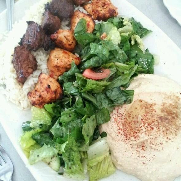 Beef and Chicken Kebabs Combo @ Janet's Mediterranean Cuisine