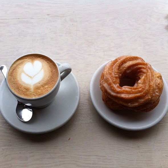 Cappucino And Cruller @ Sam James Coffee Bar