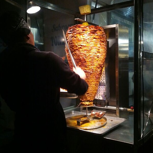 Tacos al Pastor @ El Pastorcito