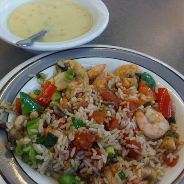 cajun shrimp and clam chowder