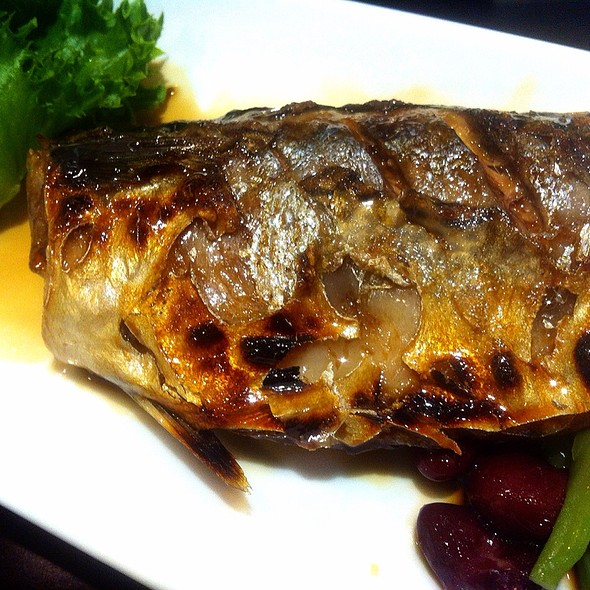 Grilled Saba with soy source @ Fuji Restaurant@Supreme Complex