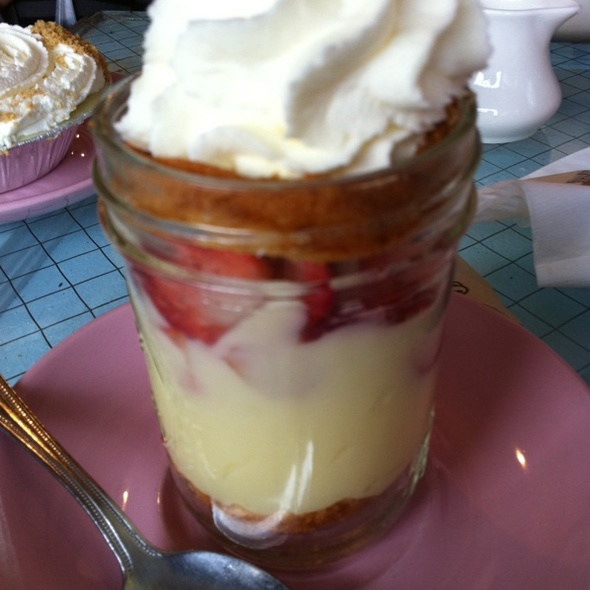 Strawberry Trifle @ Kitchenette Uptown