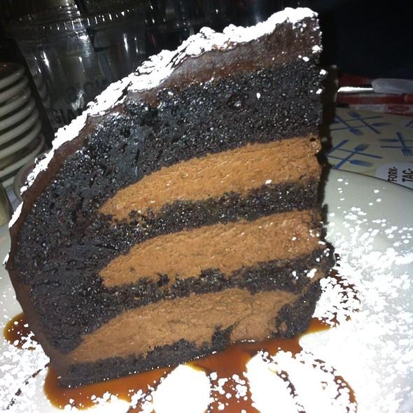 Chocolate Zuccotto Cake - Maggiano's - Orlando, Orlando, FL