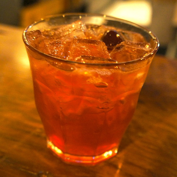 Pickled Cherry Lime Rickey @ Ollie Irene