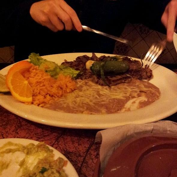 Carne Asada Plate @ Los Compadres