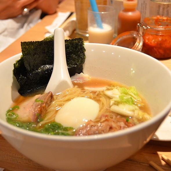 Momofuku ramen @ Momofuku Noodle Bar
