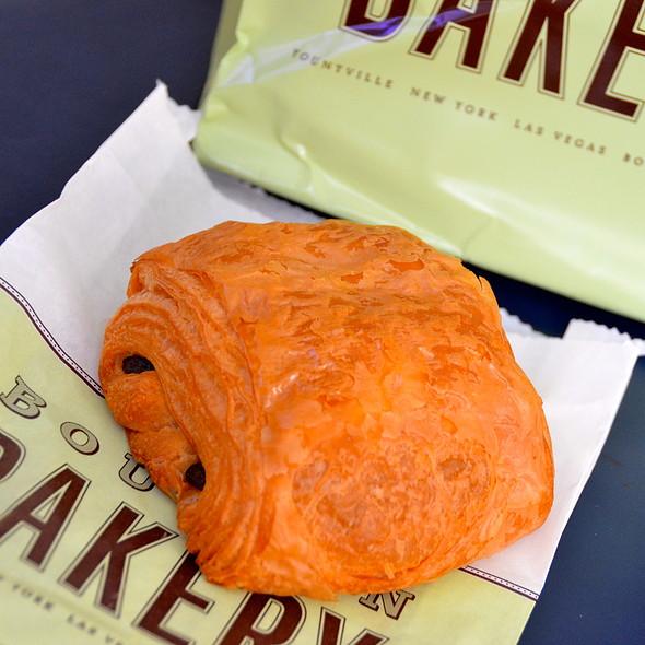 Chocolate Croissant @ Bouchon Bakery