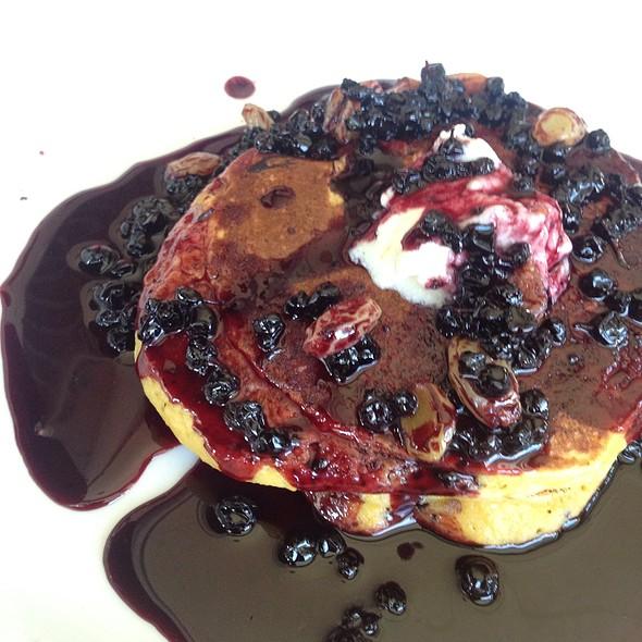 Huckleberry Wintersquash Pancakes