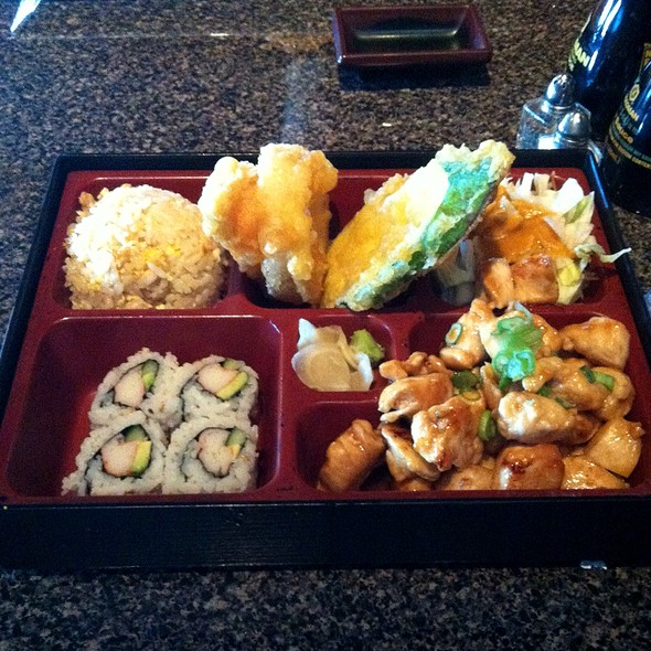 Chicken Teriyaki Bento Box @ Gogo Sushi Express & Grill