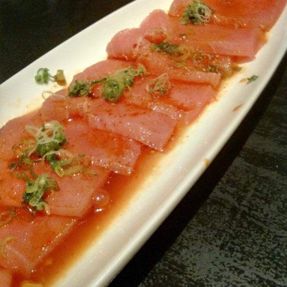 Spicy Tuna Sashimi @ Zuma Sushi & Sake Bar