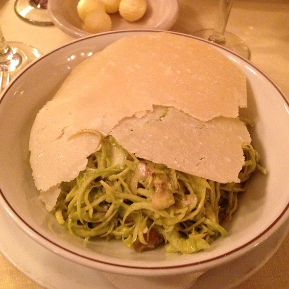 Baby Artichoke Salad With Avocado And Parmiggiano Cheese - Harry Cipriani, New York, NY