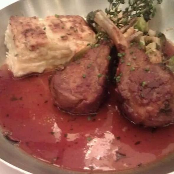 Rack of Lamb @ Brasserie Beck - French Belgian cuisine