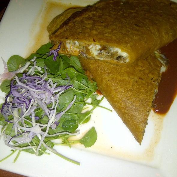 Quesadilla de Pato y Chicharron @ Zocalo Restaurant