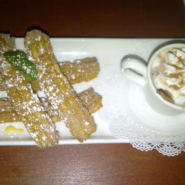 Churros y Champurado @ Zocalo Restaurant
