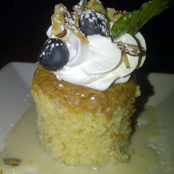 Rompope Tres Leches @ Zocalo Restaurant