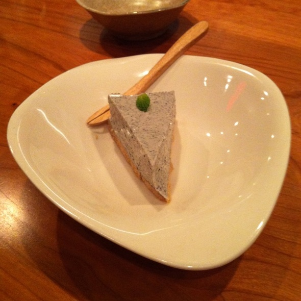 Black Sesame Cheesecake @ Cocoron