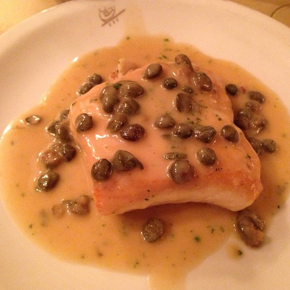 Pan Roasted Halibut With Capers In A Lemon Sauce - Harry Cipriani, New York, NY