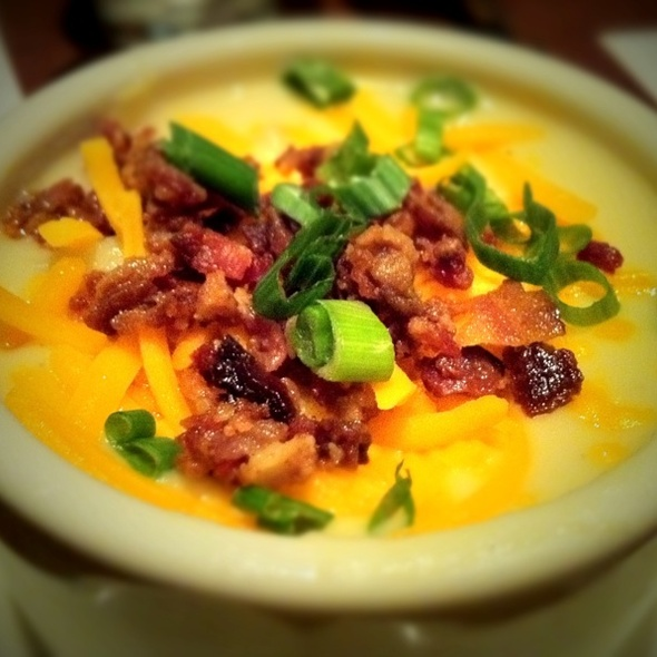 Baked Potato Soup  @ Houlihan's