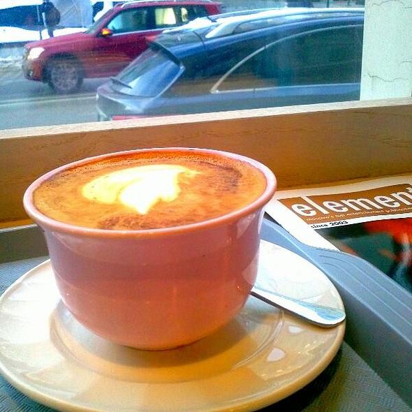 Cappuccino @ Upside Down Cake & Co