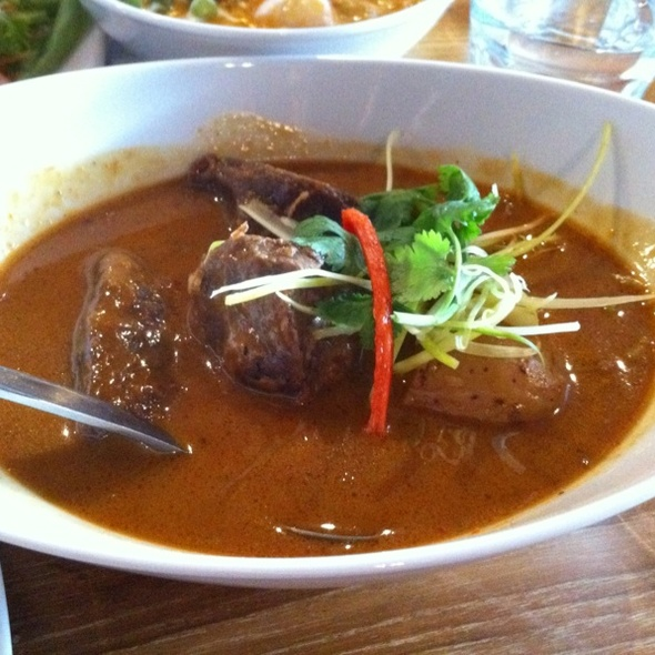 Massamun Beef @ Chilli Jam Thai Restaurant