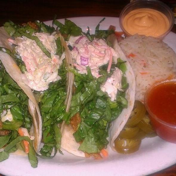 fish tacos @ Crazy Horse