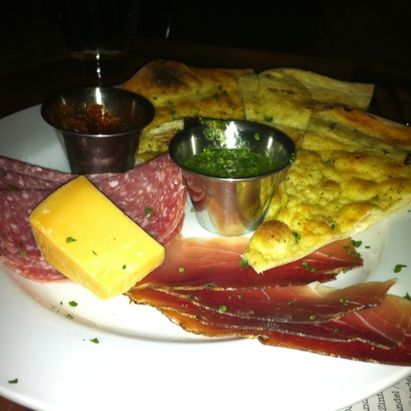 Cheese and Meat Plate @ The Parlor Pizzeria