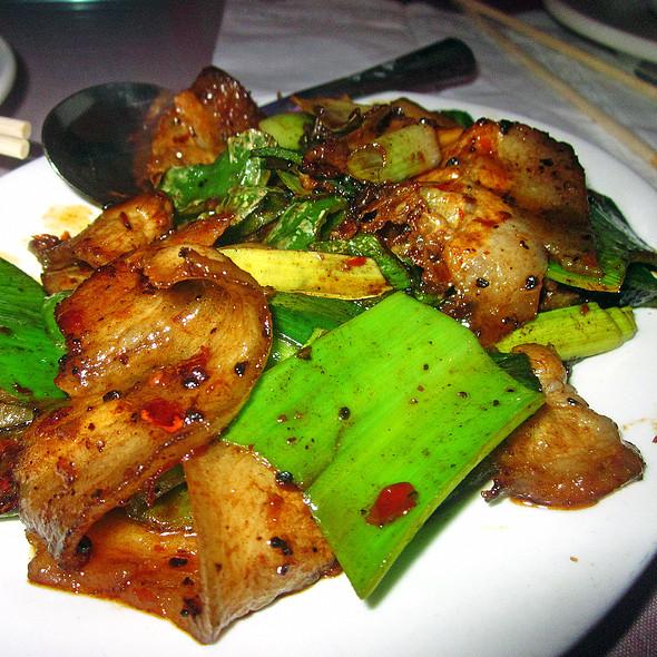 Chengdu Double Sautéed Pork @ Famous Sichuan