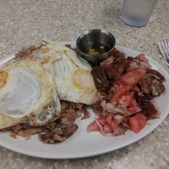 Lechon Kawali Breakfast Special @ Juliez