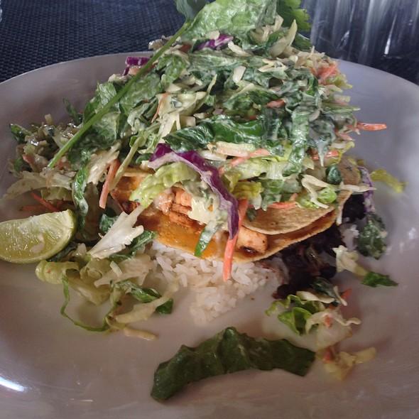 Tostada Tower Salad W/Chicken @ BC's Kitchen