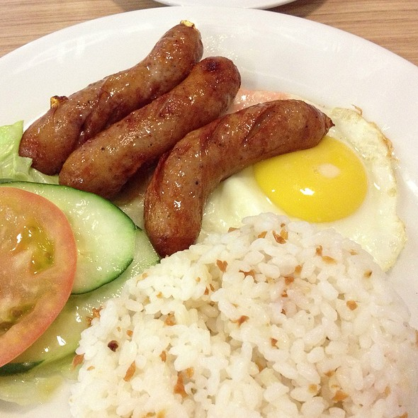 Filipino Breakfast - Chicken Longganisa