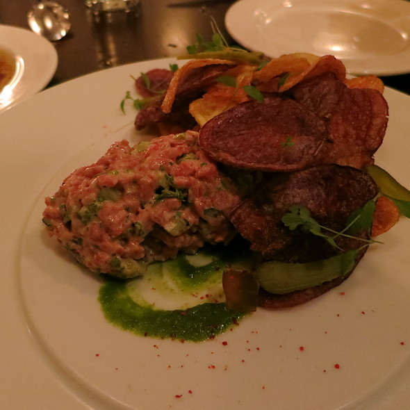 steak tartare - Restaurant Zoe, Seattle, WA