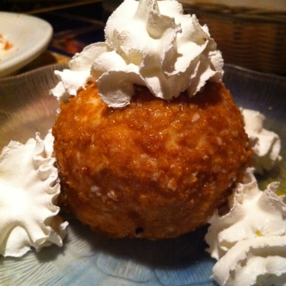 Fried Ice Cream @ Los Toros Mexican Restaurant