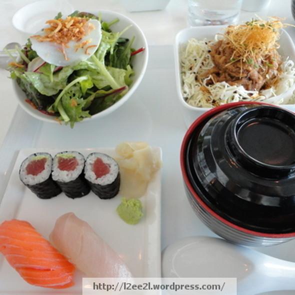 Kakuni Don Lunch Set @ Morimoto Waikiki
