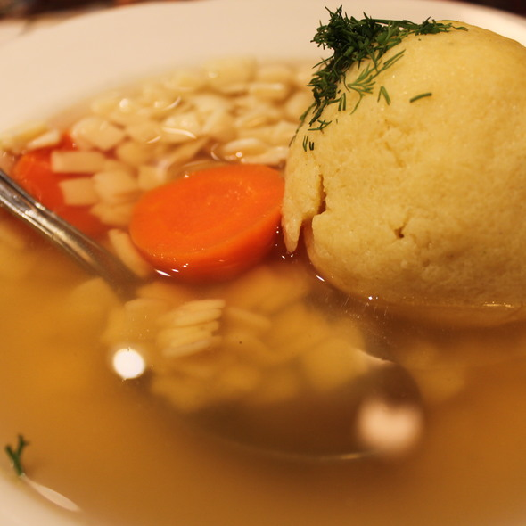 Matzoh Ball Soup @ 2nd Ave Deli