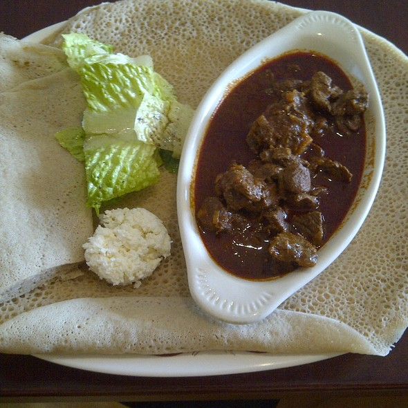 Ye-beg Wot (Lamb) @ The Nile Restaurant