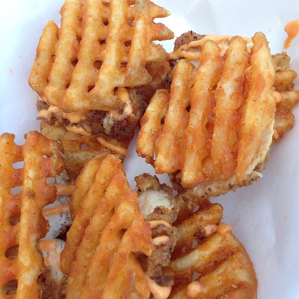 Chicken & Waffle Fryders @ The Waffle Bus
