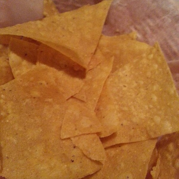 Tortilla Chips @ El Patron