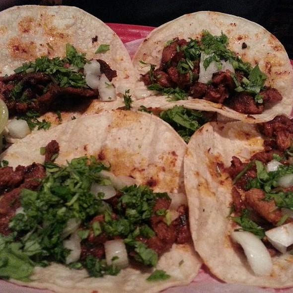 Tacos al Pastor @ El Patron