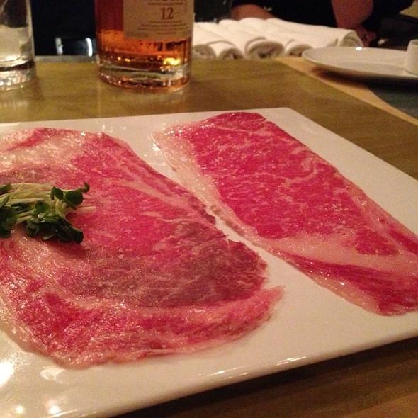 (Actual Japanese) Wagyu Beef