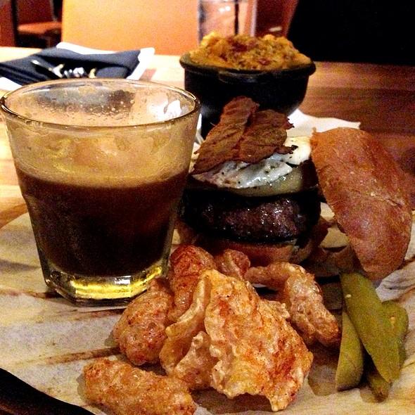 Foie Gras Burger @ SoBou