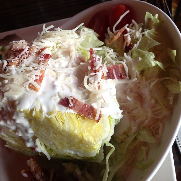 Wedge Salad w/ Blue Cheese - Clinkerdagger, Spokane, WA