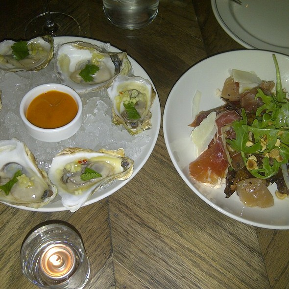 Oysters on the Half Shell @ The Boarding House