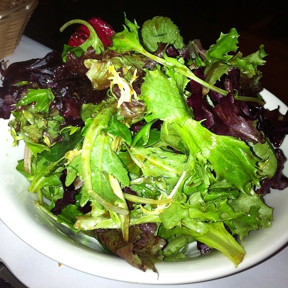 Tasty Dinner Salad - Au Midi Restaurant & Bistrot, Aptos, CA
