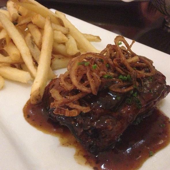 Skirt Steak W/ French Fries - Technique at Le Cordon Bleu – Pasadena, Pasadena, CA