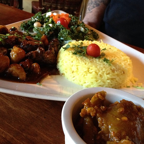 Peppered Duck And Hot Mango Pickle - India Restaurant, Providence, RI