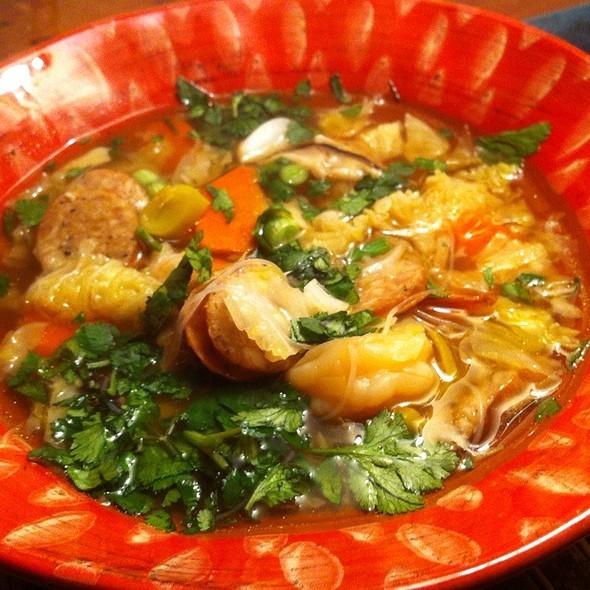 Carolyn's Magical Soup @ The Hacienda Vacation Home