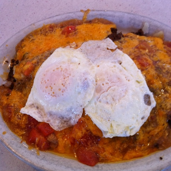 Mexican Skillet With Two Eggs @ Westy's Cafe In Westminster, Co