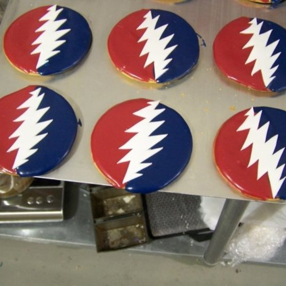 Grateful Dead Black and White's @ The Black and White Cookie Company