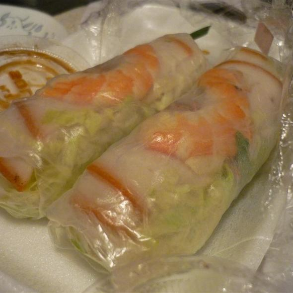 Pork & Shrimp Spring Rolls @ Paris Sandwich