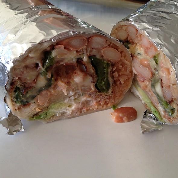Super Burrito De Chile Relleno @ El Farolito